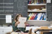 Im Kanton Uri gibt es immer weniger Schüler (Symbolbild). (Bild: Gaetan Bally/Keystone)