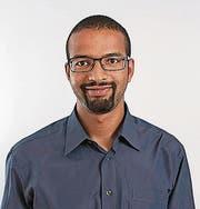 Brahim Aakti (37), SP-Einwohnerrat: «Ich bin zwar auch grün, aber noch mehr bin ich links.» (Bild: PD)