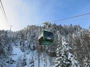 Die Luftseilbahn von Kräbel auf die Rigi Scheidegg ist neu gebaut (Bild: PD)