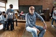 War 35 Jahre lange im Dienst der Schule: Leiter Wolfgang Abt aus Nebikon. (Bild: Nadia Schärli / Neue LZ)
