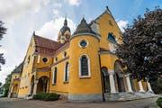 Die Pfarrkirche Gerliswil wurde nach den Plänen des Architekten Adolf Gaudy erbaut und im September 1915 eingeweiht. (Bild Roger Grütter)