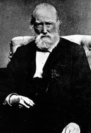 Kurz nach der Heirat brach der Liebessturm über ihn los: Theodor Storm (1817–1888). (Bild: Getty)