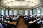 Der Zuger Kantonsrat wird erneut das Planungs- und Baugesetz beraten. (Bild: Stefan Kaiser (Zuger Zeitung))