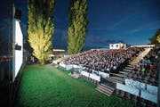 Das Open-Air-Kino in Zug. (Bild: PD)