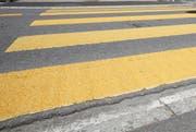 Der Unfall ereignete sich im Bereich eines Fussgängerstreifens. (Symbolbild: Luzerner Zeitung)