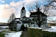 Kirche St. Jost in Blatten. (Symbolbild Chris Iseli/Neue LZ)