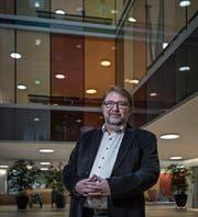 Richard Kolly im Betagtenzentrum Emmenfeld. (Bild: Pius Amrein (Emmen, 8. Januar 2018))