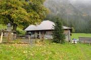 Die Alp Aener Stäfeli in Schwarzenberg inklusive Alphütte steht zum Verkauf. (Bild: pd)
