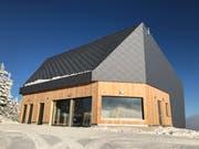 Die neue Bergstation der Luftseilbahn Kräbel - Rigi Scheidegg. (Bild: PD)