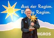 Hans Blaser ist der Migros-Produzent des Jahres. (Bild PD)