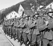 Am 12. März 1938 marschierte die Wehrmacht in Österreich ein. Der sogenannte «Anschluss» wird vollzogen. (Bild: Keystone)
