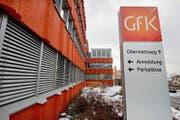 Das Hauptgebäude des Marktforschungsinstituts GfK Switzerland in Hergiswil. (Bild Eveline Beerkircher)