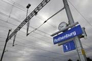 Von hier nach Luzern war seit dem frühen Donnerstag Nachmittag der Zugsverkehr eingeschränkt. (Bild: Archiv LZ/Remo Nägeli)