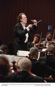 Riccardo Chailly leitet die Filarmonica della Scala (2017). (Bild: LF)