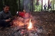 Beim Feuern im Wald ist höchste Vorsicht geboten. (Bild: Archiv Neue LZ)