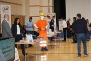 An de Jobmesse präsentierten sich Anbieter von Temporär- und Dauerstellen. (Bild: PD/VAM)
