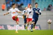 Clemens Fandrich, hier noch im Einsatz bei RB Leipzig. (Bild: pd)