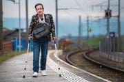 Kurt Hegner hat die Bezugsberechtigung für Tixi-Taxi-Bons verloren. (Bild: Eveline Beerkircher (Waldibrücke, 15. November 2017))