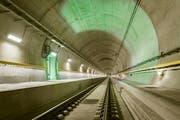 Der neue Gotthard Basistunnel.