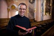 Der neue Abt des Klosters Einsiedeln, Urban Federer (Bild: PD)