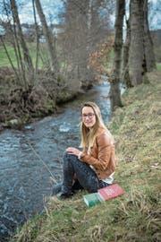 Normalerweise sprintet Lisa Stöckli (23) der Rot entlang. (Bild: Pius Armein (Grosswangen, 14. März 2018))