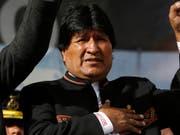 Der Präsident Boliviens, Evo Morales, kommt nächsten Monat in die Schweiz, um für sein Jahrhundert-Eisenbahnprojekt zu weibeln. (Bild: Juan Karita)