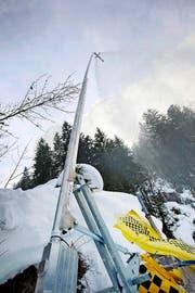 Schneilanze im Skigebiet Melchsee Frutt. (Archivbild Manuela Jans-Koch)