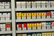 Entwendet wurden grössere Mengen Zigaretten. (Symbolbild Keystone)