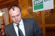 Gusti Planzer, Präsident der SVP Uri. (Bild Angel Sanchez/Neue UZ)