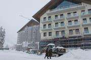 Der Rohbau des Hotels Chedi. (Bild: Florian Arnold / Neue UZ)