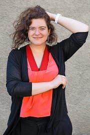Die Schweizer Autorin Nora Gomringer ist eine Favoritin beim Literaturwettstreit in Klagenfurt. (Bild: Keystone/Anthony Anex)