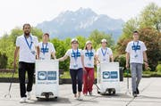 Die Abfallbotschafter machen Halt in Luzern. (Bild: PD)