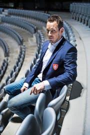 Wird vom Verband möglichst vorteilhaft in der Öffentlichkeit positioniert, hat als Cheftrainer aber keinen Leistungsausweis: Patrick Fischer. (Bild: Freshfocus/Urs Lindt)