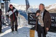 Samih Sawiris, der Mann, dessen Projekt dem Andermatter Tourismus neuen Schub brachte, äussert sich erfreut. (Bild: PD)