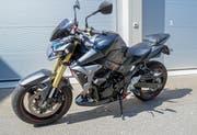 Das Motorrad des Rasers. (Bild: Luzerner Polizei)