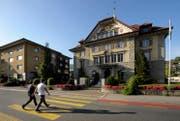 Mit einem Formular auf der Internetseite der Gemeinde Kriens soll sich jeder Einwohner direkt an die Gemeinde wenden. Im Bild das Gemeindehaus Kriens. (Bild: Pius Amrein (Kriens, 11. Oktober 2012))