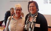 Die bisherige und die neue Sekretariatsleiterin: Christine Wagenbach (links) und Ursula Steinauer. Bild: PD
