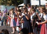 Am 9. September wird auf dem Landsgemeindeplatz das Fest der Nationen gefeiert – wie vor drei Jahren. (Bild: Roger Zbinden (6. September 2014))