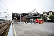 Das heutige Bahnhofsgebäude (Bild: Corinne Glanzmann)