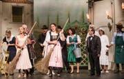 """Hauptprobe der Operette """"Der Vetter aus Dingsda"""" vom Theater Root in Perlen. (Bild: Manuela Jans- Koch)"""