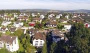 Blick auf die Gemeinde Buchrain. (Bild René Meier)