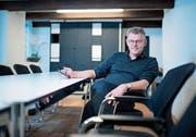 Der Zuger Unternehmer Andreas Kleeb weibelt im Augenblick in der ganzen Schweiz für die Initiative «No Billag». (Bild: Maria Schmid (Baar, 10. Januar 2018))