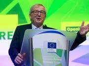Fordert mehr Geld für die Europäische Union: EU-Kommissionschef Juncker. (Bild: KEYSTONE/EPA/OLIVIER HOSLET)