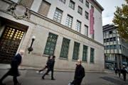 Gebäude der Sammlung Rosengart in Luzern. (Bild: Pius Amrein/LZ (Luzern, 21.11.2014))