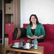 Bewundernswert optimistisch: Die Friedensaktivistin Amal Naser. (Bild: Pius Amrein (Luzern, 04. Mai 2017))