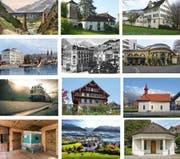 Am kommenden Wochenende stehen in der Zentralschweiz diverse Denkmaler für die Bevölkerung offen. (Bilder PD)