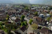 blick auf das Zentrum von Altdorf. Wer im Kanton Uri wahlfähig ist, ist gemäss des Gesetzesentwurfes verpflichtet, ein Amt zu übernehmen (Symbolbild). (Bild: Keystone)