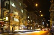 So strahlte die Weihnachtsbeleuchtung an der Hirschmattstrasse in Luzern im Jahr 2009. (Bild: Chris Iseli / Neue LZ (Archiv))