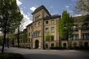 Sitz der Abteilungen 1 und 2 des Luzerner Kantonsgericht am Hirschengraben. (Bild: Pius Amrein/LZ)