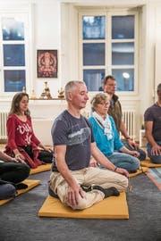 Ueli Sägesser hat vor vielen Jahren zum Buddhismus gefunden, aus dem er viel Kraft schöpft.